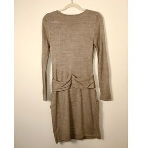 Dresses - NY & Co Belted Sweater Dress - FINAL PRICE